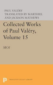Collected Works of Paul Valery, Volume 15