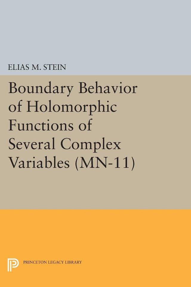 Boundary Behavior of Holomorphic Functions of Several Complex Variables. (MN-11)