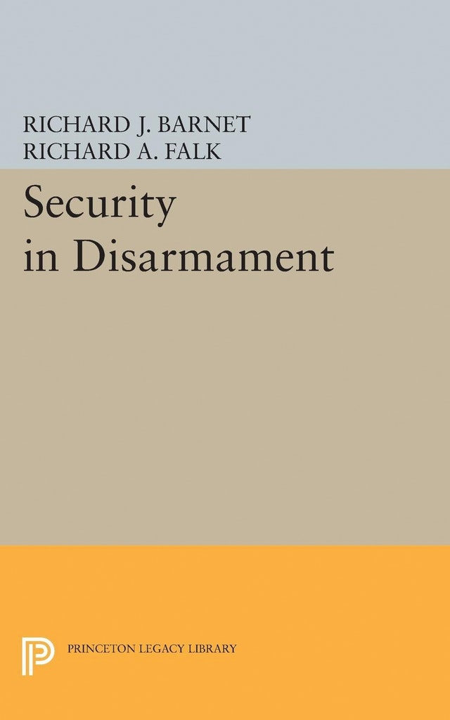 Security in Disarmament