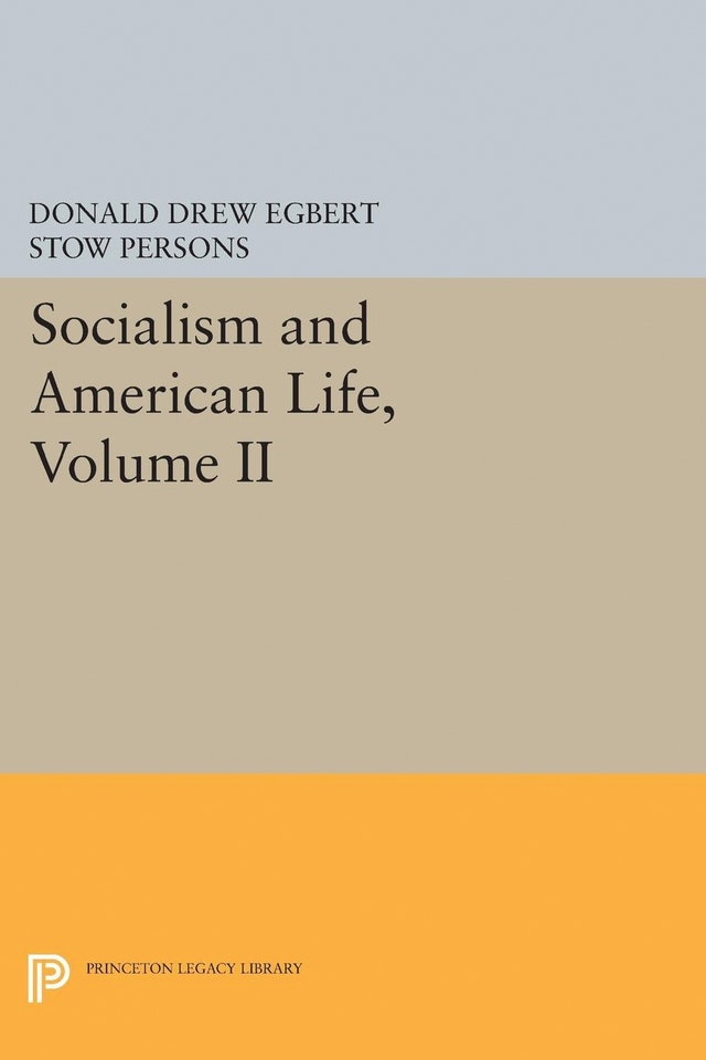 Socialism and American Life, Volume II