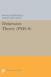 Dimension Theory (PMS-4), Volume 4