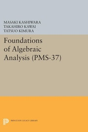 Foundations of Algebraic Analysis (PMS-37), Volume 37