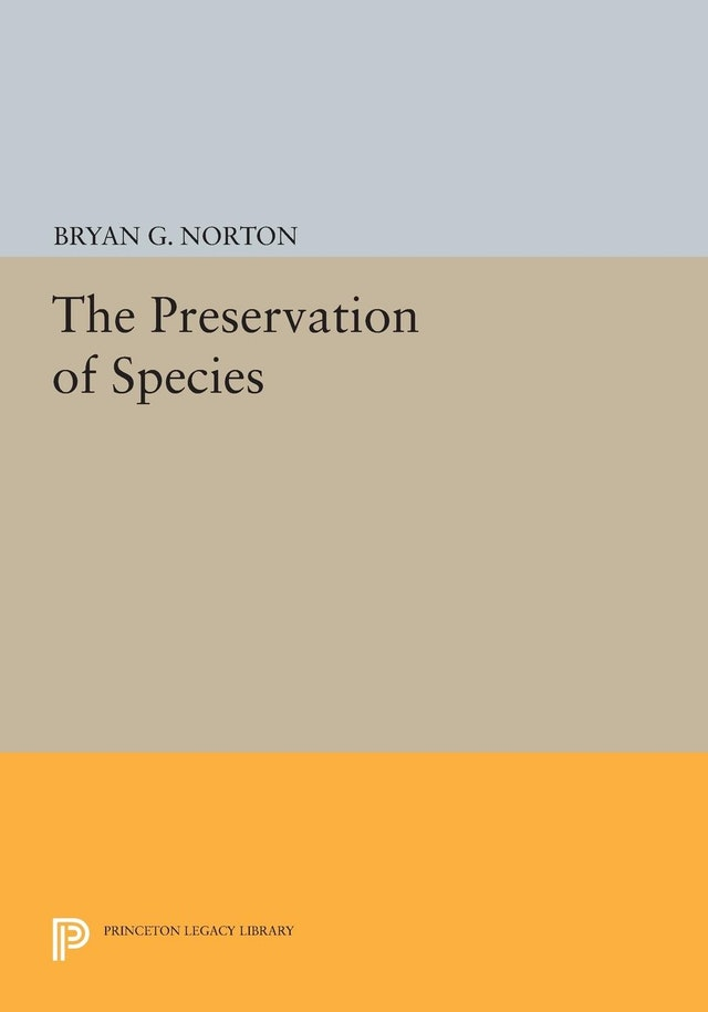 The Preservation of Species