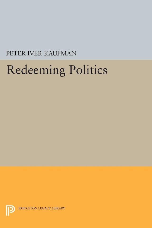 Redeeming Politics