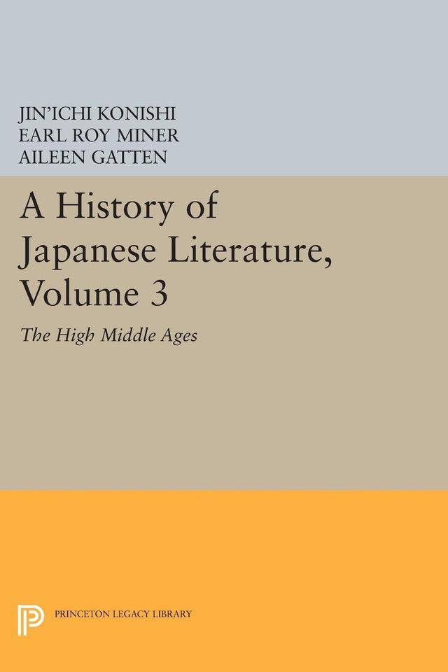 A History of Japanese Literature, Volume 3