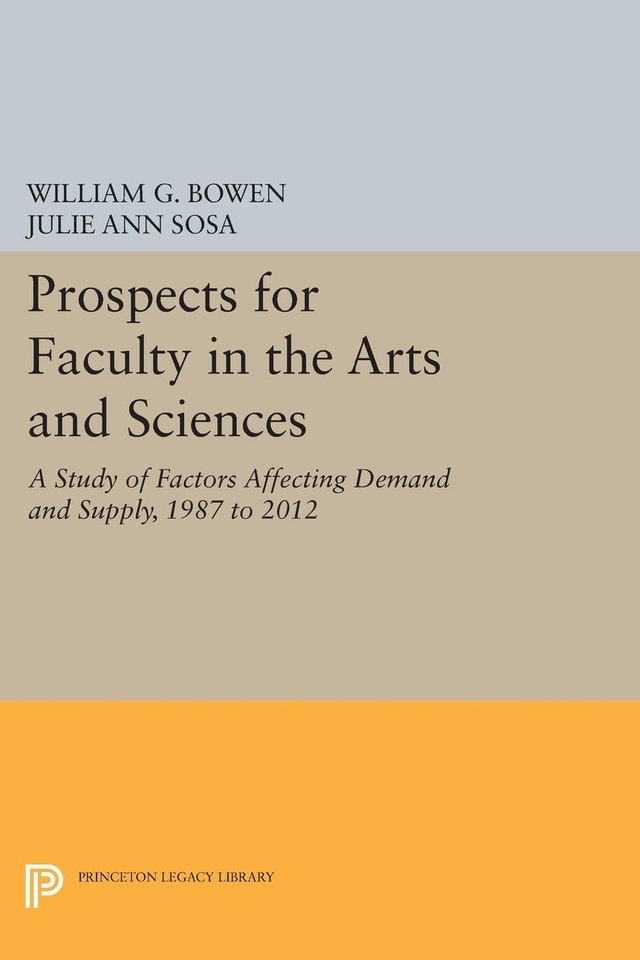 Prospects for Faculty in the Arts and Sciences