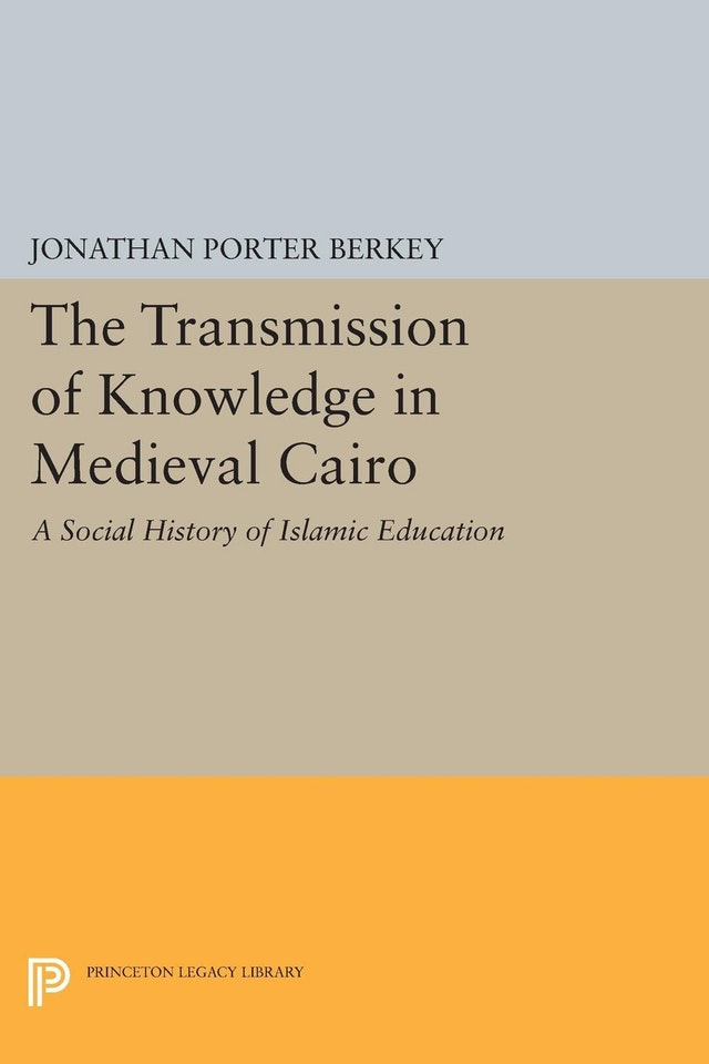 The Transmission of Knowledge in Medieval Cairo