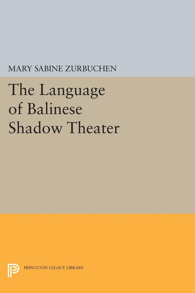 The Language of Balinese Shadow Theater