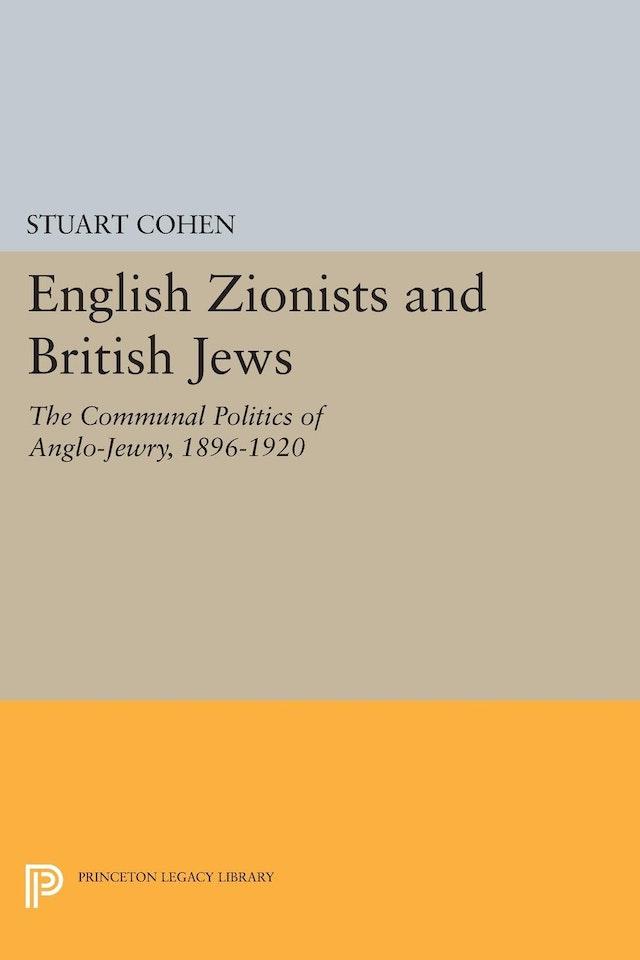 English Zionists and British Jews