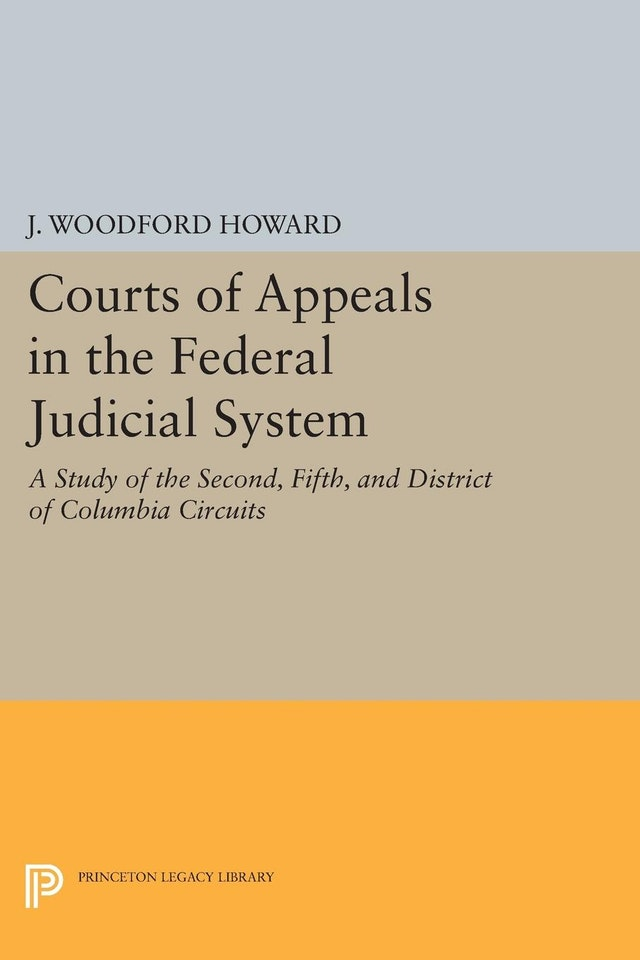 Courts of Appeals in the Federal Judicial System