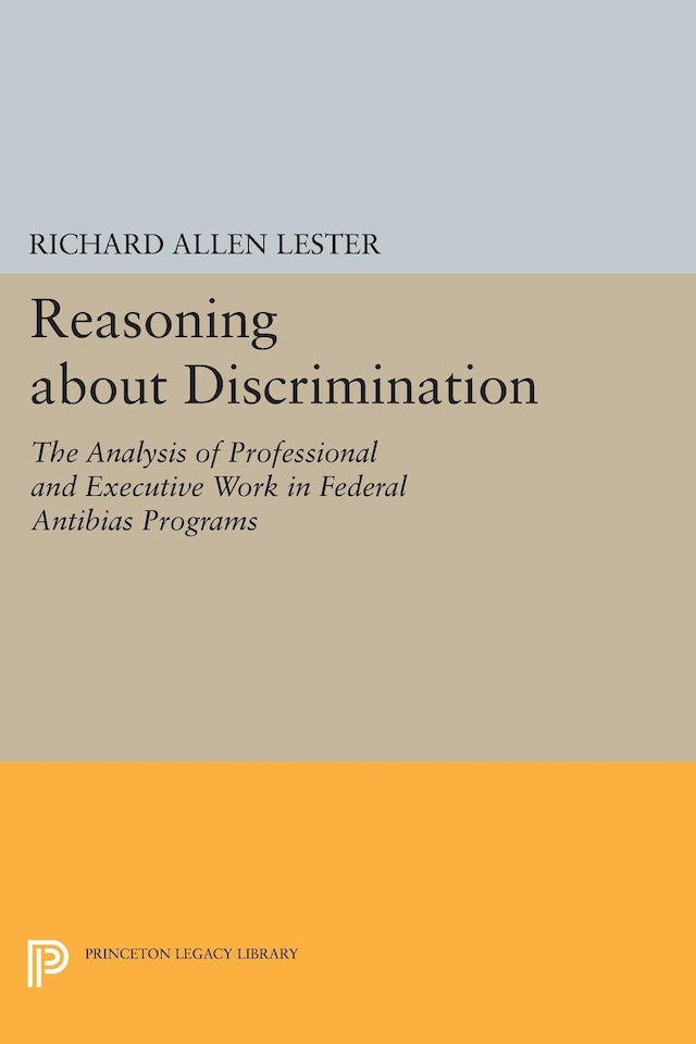 Reasoning about Discrimination