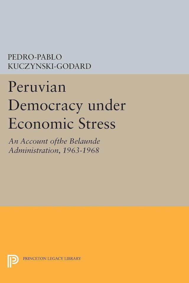 Peruvian Democracy under Economic Stress
