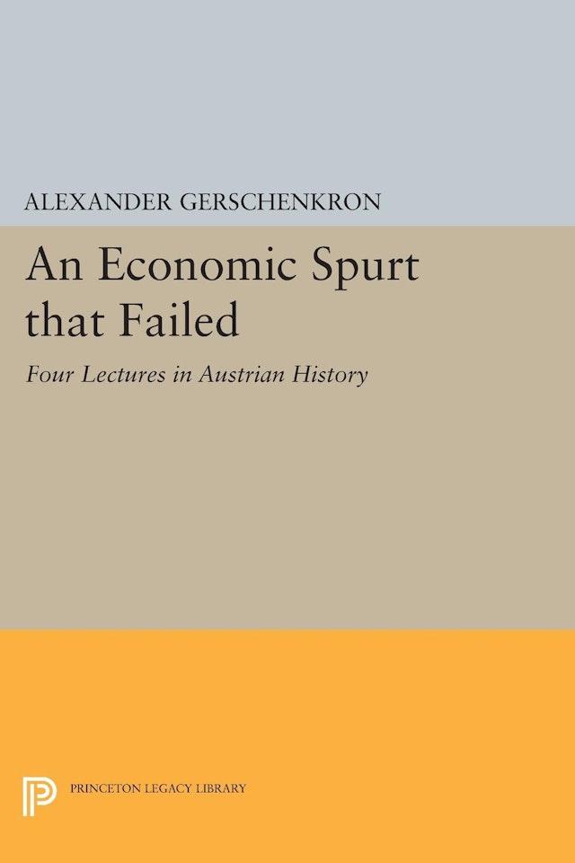 An Economic Spurt that Failed