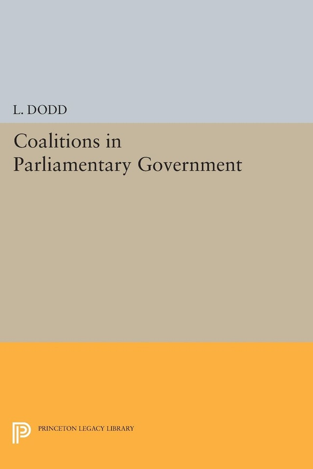Coalitions in Parliamentary Government