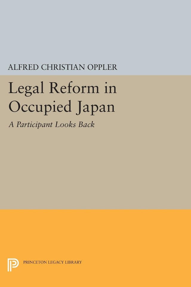 Legal Reform in Occupied Japan