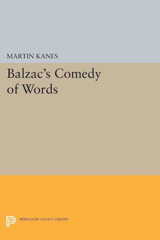 Balzac's Comedy of Words