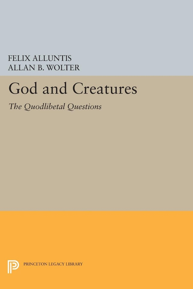 God and Creatures