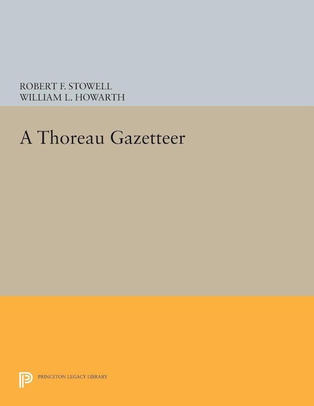 A Thoreau Gazetteer