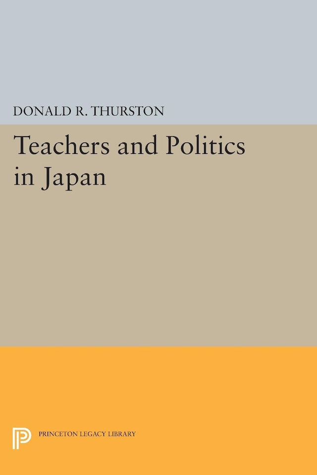 Teachers and Politics in Japan