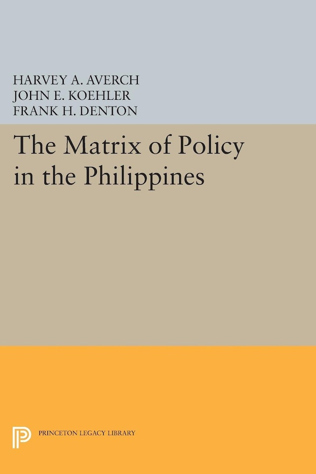 The Matrix of Policy in the Philippines