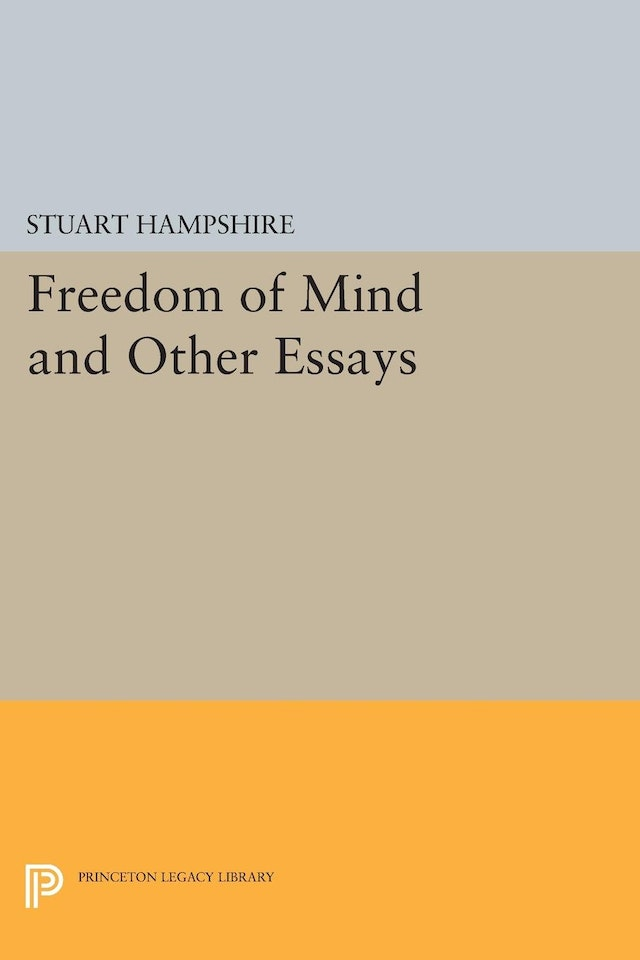 Freedom of Mind and Other Essays