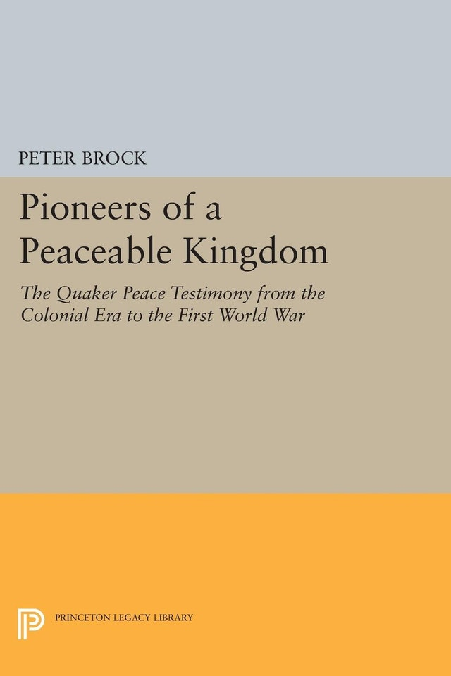 Pioneers of a Peaceable Kingdom