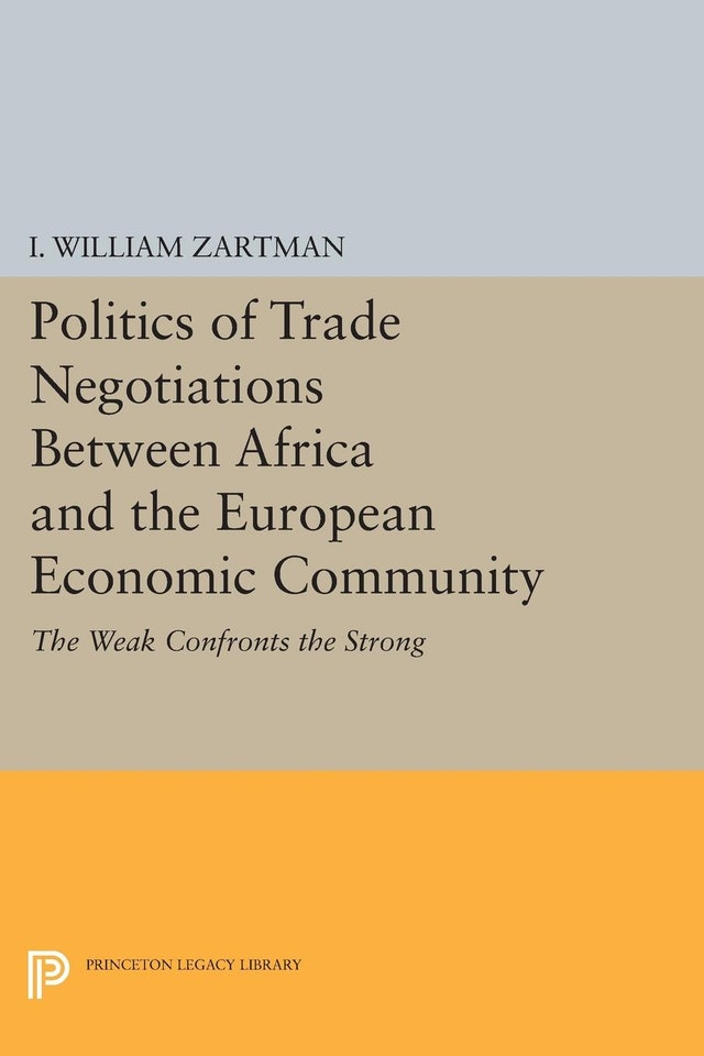 Politics of Trade Negotiations Between Africa and the European Economic Community