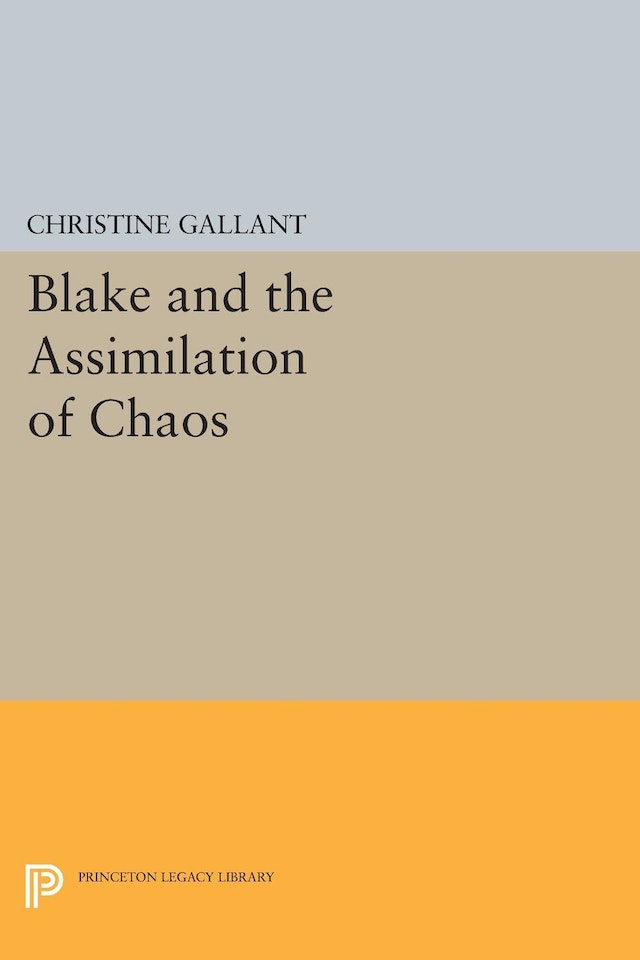 Blake and the Assimilation of Chaos