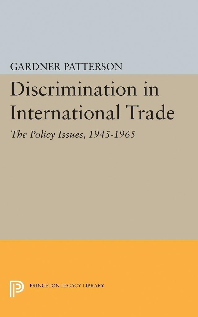 Discrimination in International Trade, The Policy Issues