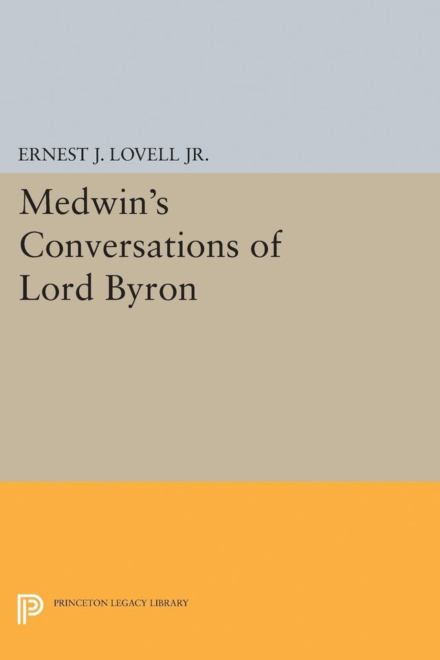 Medwin's Conversations of Lord Byron