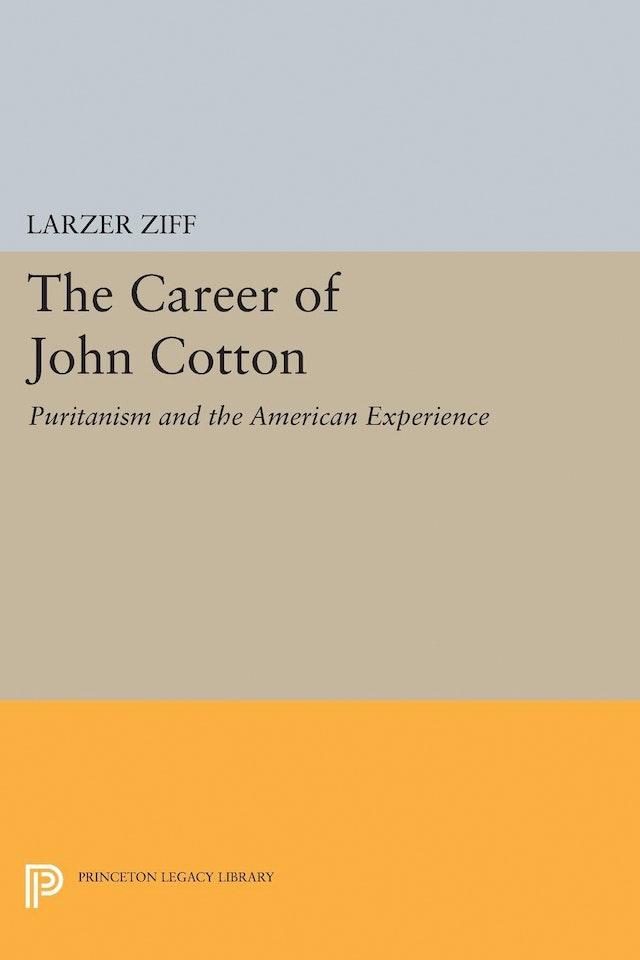 Career of John Cotton