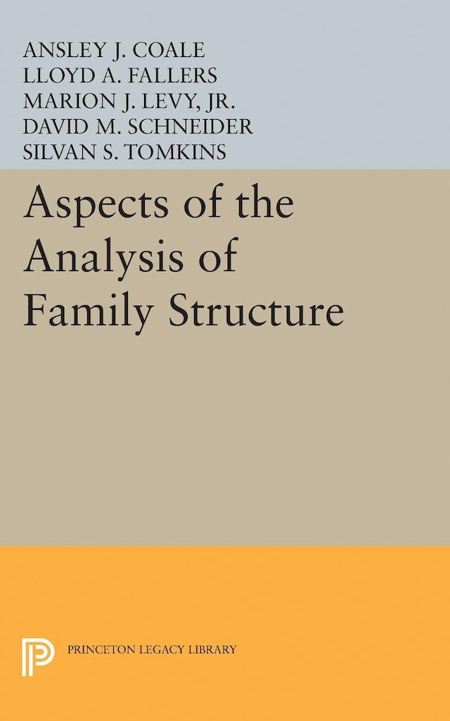 Aspects of the Analysis of Family Structure
