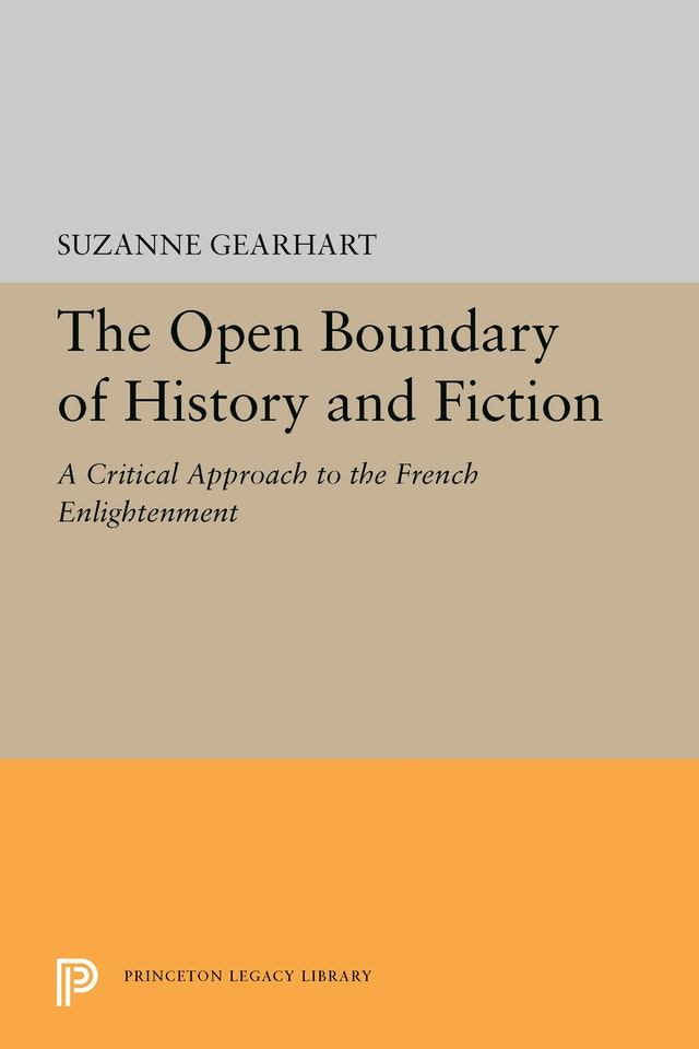 The Open Boundary of History and Fiction