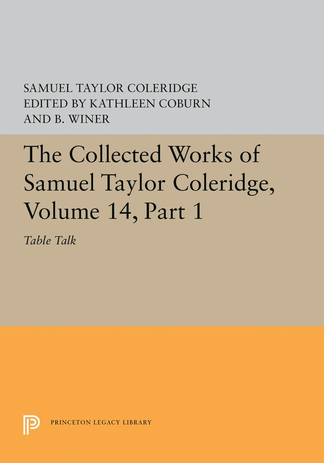 The Collected Works of Samuel Taylor Coleridge, Volume 14