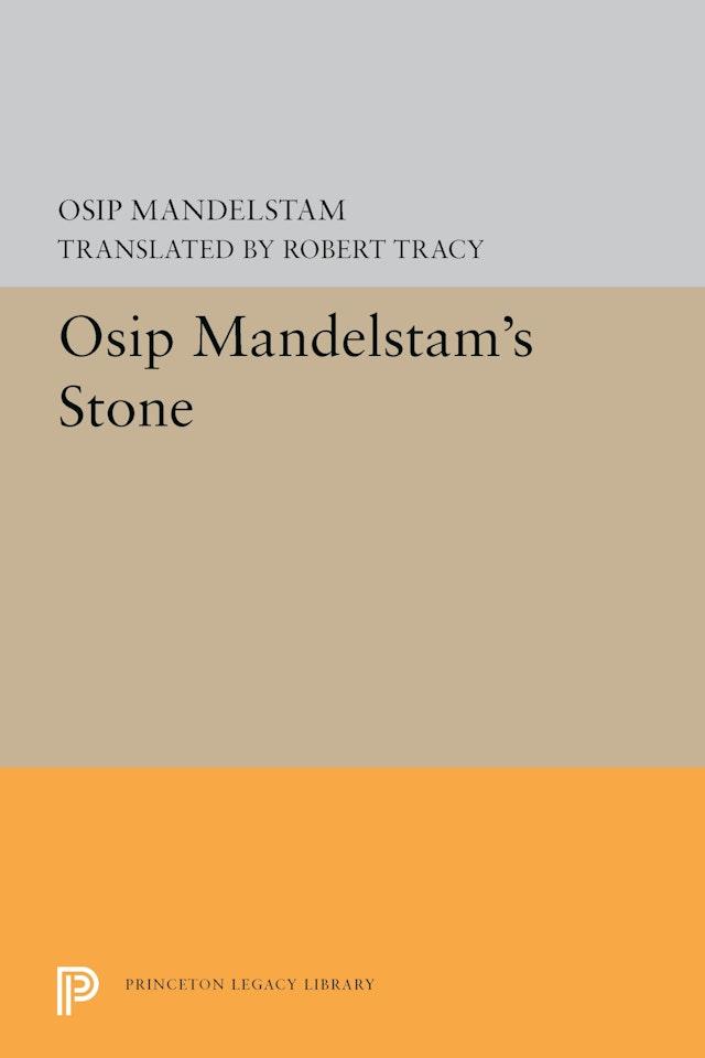 Osip Mandelstam's Stone