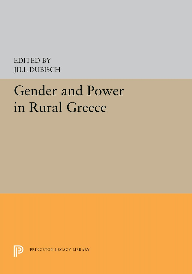Gender and Power in Rural Greece