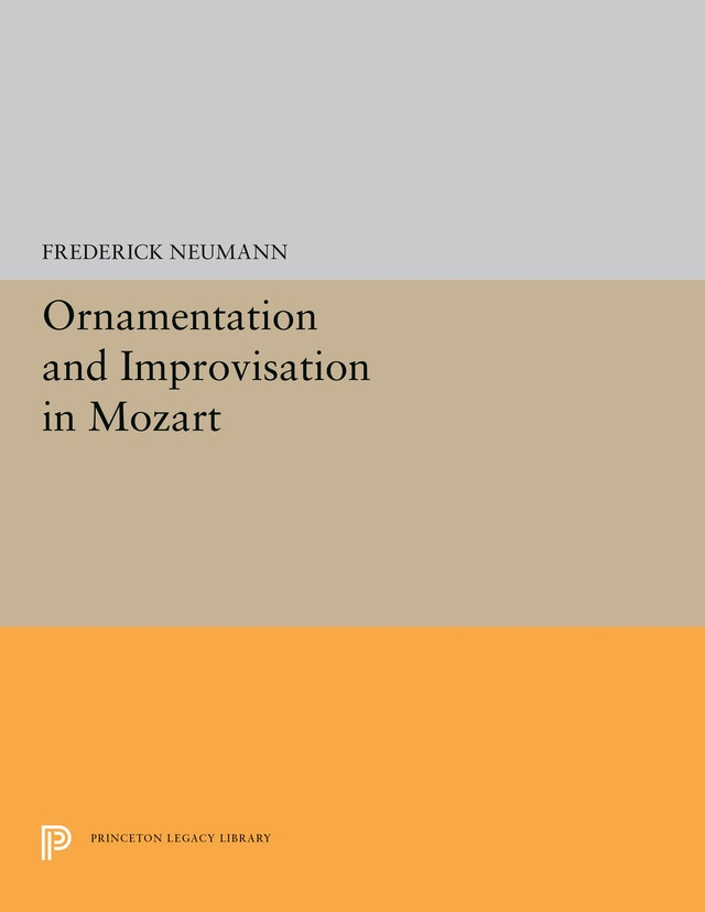 Ornamentation and Improvisation in Mozart