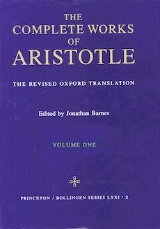 Complete Works of Aristotle, Volume 1