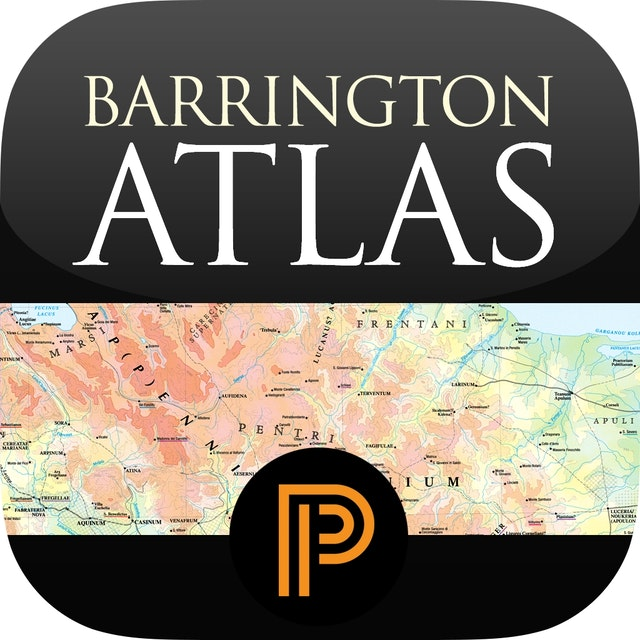 Barrington Atlas of the Greek and Roman World for iPad (APP)