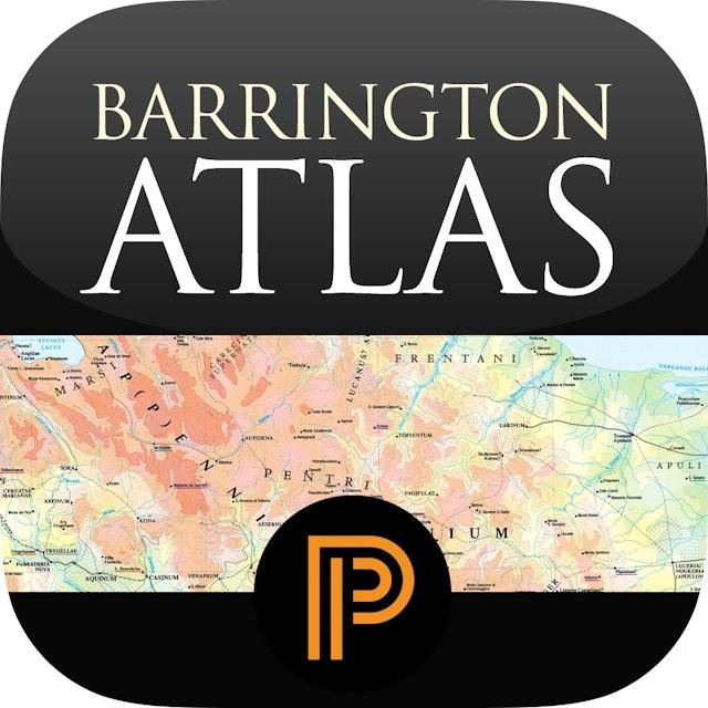 Barrington Atlas of the Greek and Roman World for iPad (App)