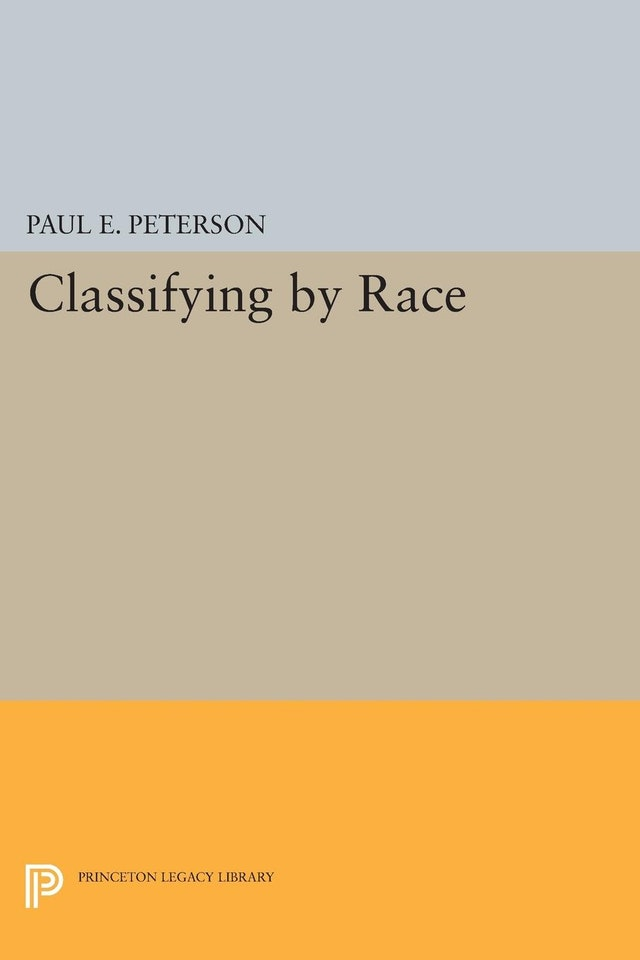 Classifying by Race
