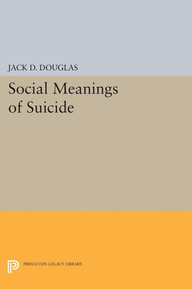 Social Meanings of Suicide