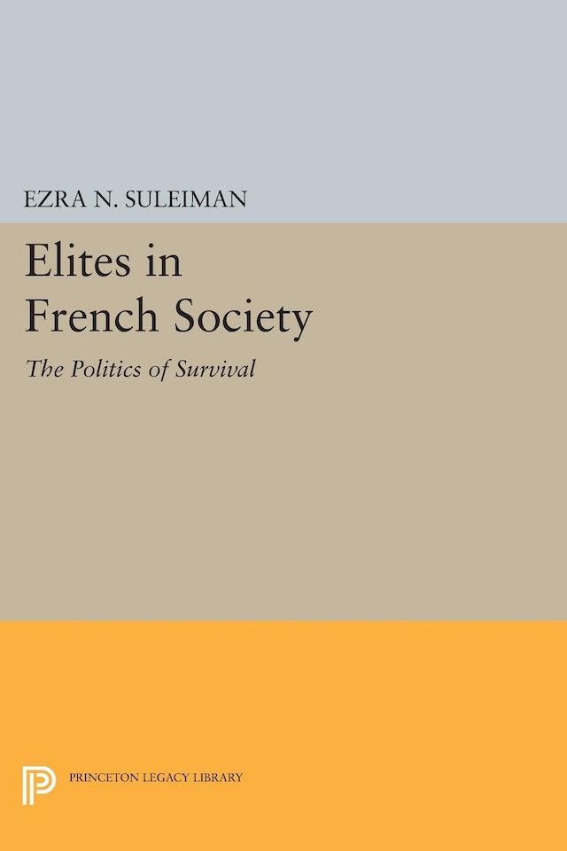 Elites in French Society