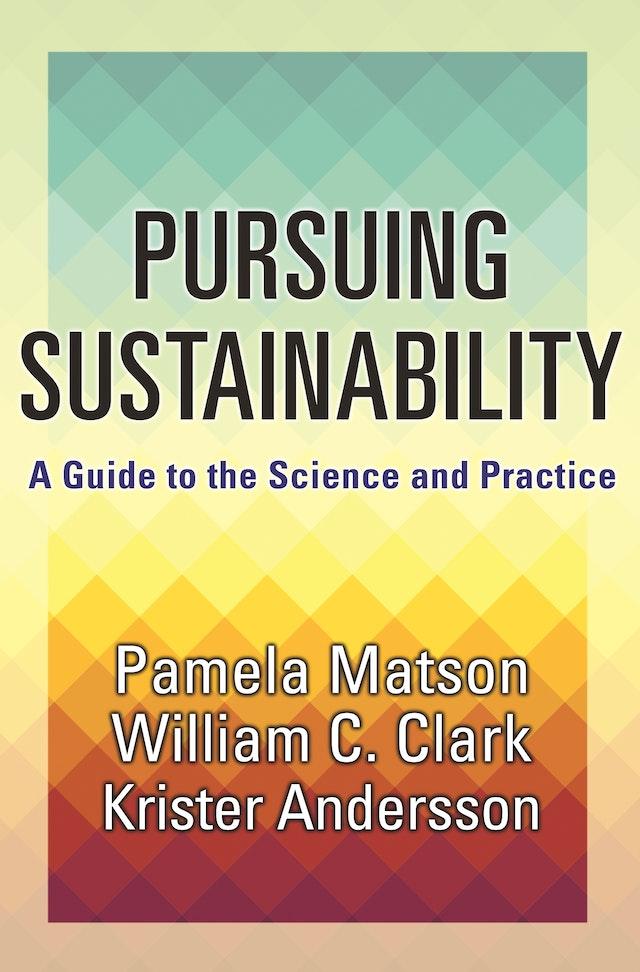 Pursuing Sustainability