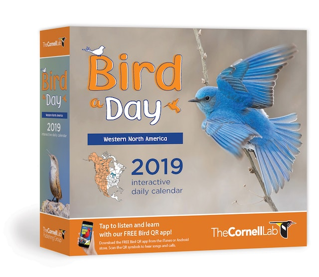 Bird A Day 2019 Daily Calendar: Western North America